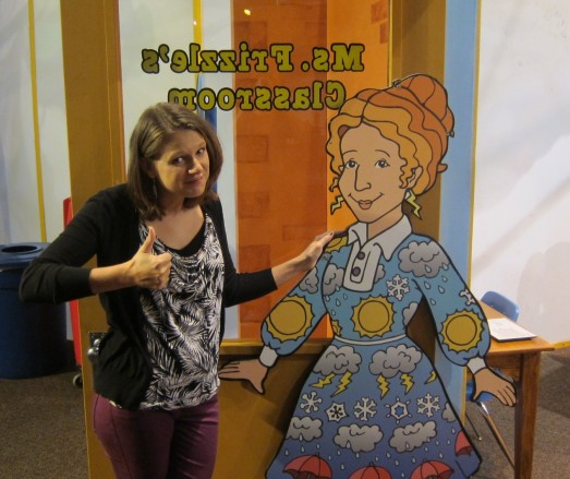 At the Children's Museum: If only I could be half the teacher that Ms. Frizzle was...